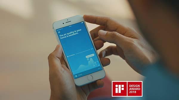 Renson Healthbox 3.0 app wint iF Design Award