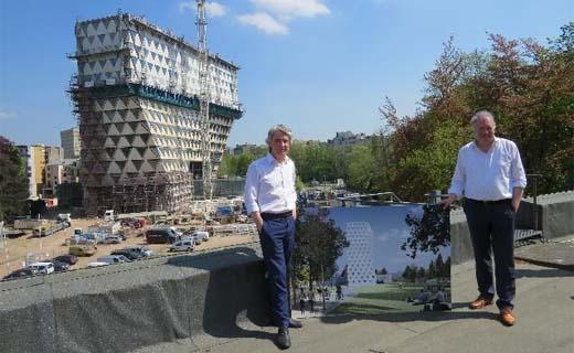 Publieke tuin rond provinciehuis zorgt voor extra groene long in Antwerpen