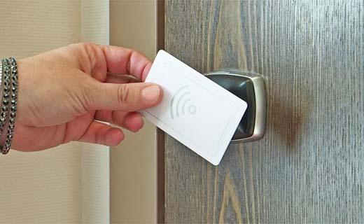 Lek in beveiliging van hotelkamersleutels