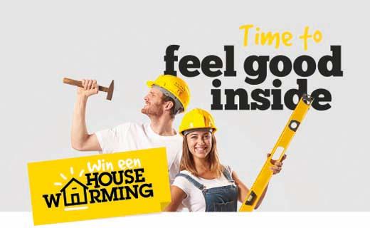 Isoleer en win een housewarming!