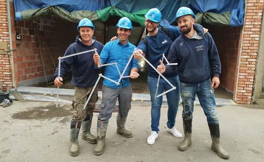 Bouwunie en MNM radio bezoeken #bouwmakkers