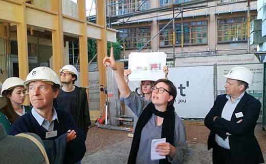 BVA op stap met B-architecten