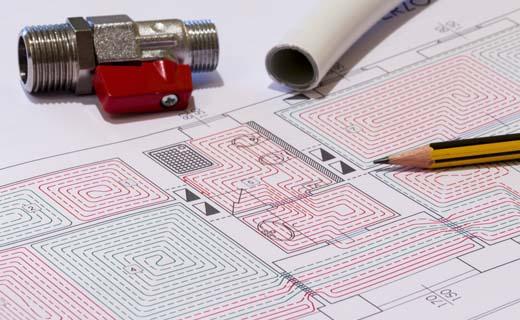 Bouwunie organiseert opleidingen dimensionering vloerverwarming