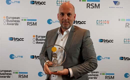 Riwal winnaar van de Europese Business Awards
