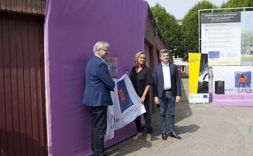 Renovatie van 3 woonblokken in Borgerhout tot 52 BEN-appartementen