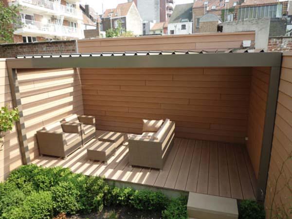 Algarve zorgt voor knusse hoek in de tuin