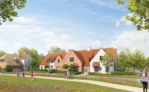 Vergunning voor nieuwe woonwijk in duurste gemeente van Vlaanderen