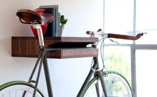 De creatiefste manieren om je fiets op te bergen