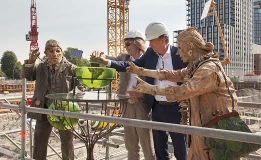 Vorm start met bouw BOLD: Dé duurzame ontwikkeling aan het IJ