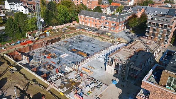 Nieuwe woonwijk in Leuven krijgt verkoeling via grondwater