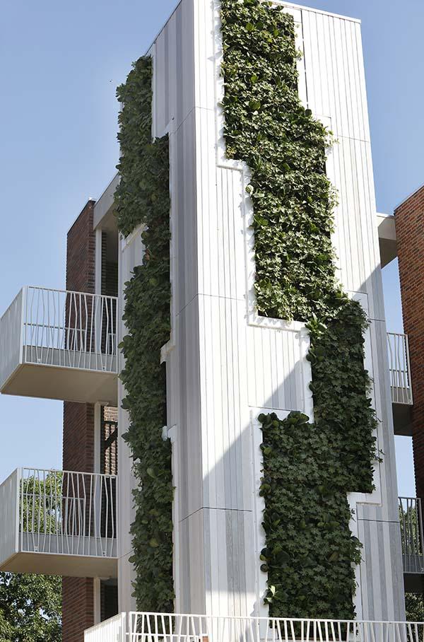 Groene toren in Nijmegen