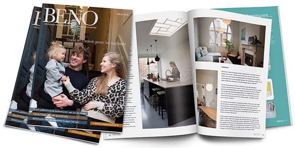 het gratis magazine BENO