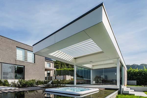 Renson - terrasoverkapping om in te bouwen