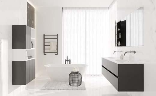 Avino hoort in de minimalistische badkamer bouwenwonen