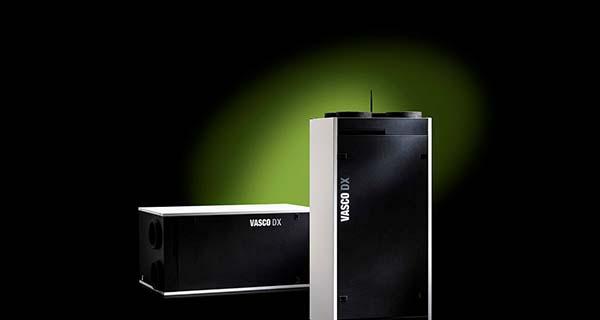 Vasco - Fluisterstille ventilatie-unit met hoogste rendement