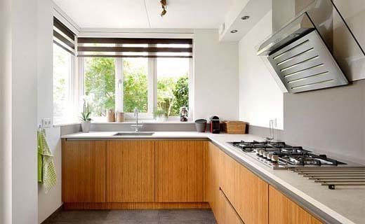 Eigentijds en duurzaam een keuken van bamboe bouwenwonen