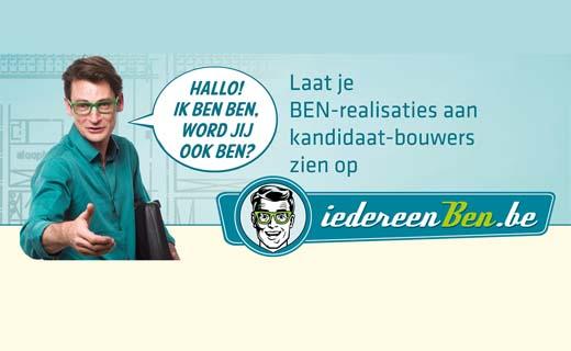 Laat je BEN-realisaties zien op IedereenBEN.be