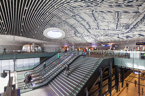 Mecanoo - het Centraal Station in Delft