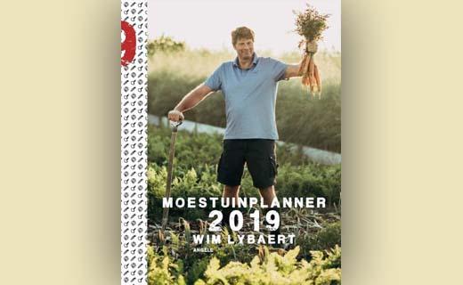 Wim Lybaerts Moestuinplanner 2019