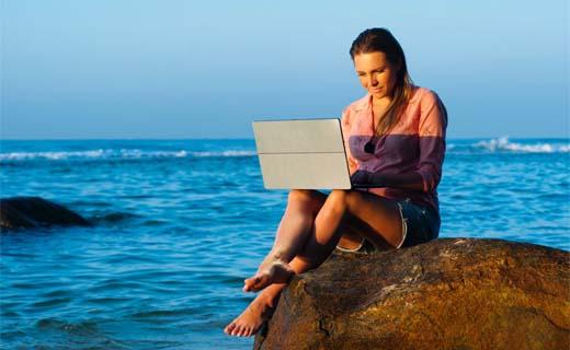 Vakantie is zon, zee, strand … én huizenjacht