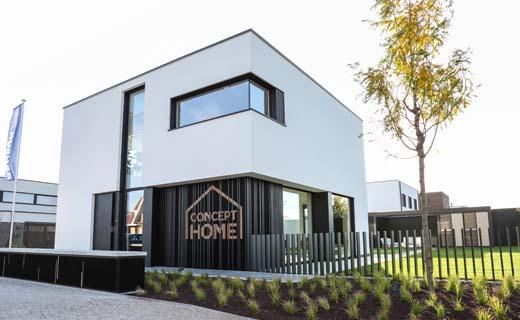 Renson opent gloednieuw Concept Home in Waregem