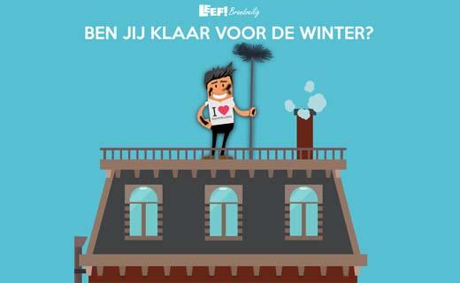 Is jouw schoorsteen klaar voor de winter?