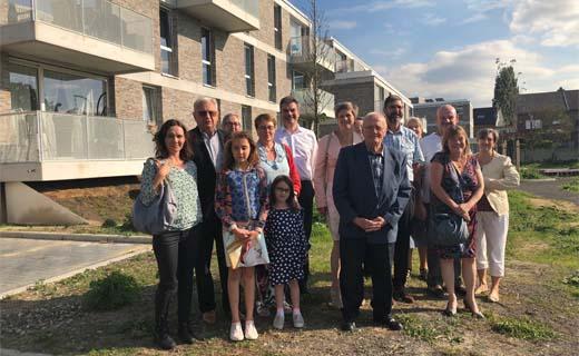 Nieuw sociaal woonproject in Aartselaar ingehuldigd
