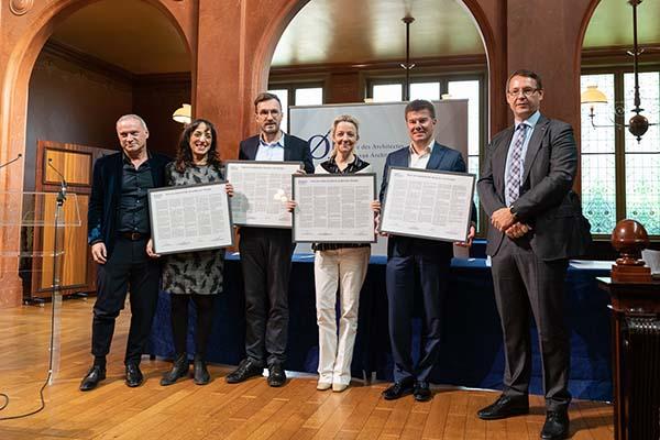 Belgische Cultuurministers ondertekenen charter voor kwaliteitsvolle bouwcultuur