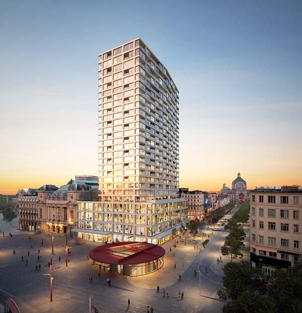 Antwerp Tower - Matexi