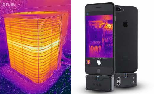 FLIR Systems introduceert voordeliger geprijsde warmtebeeldcamera