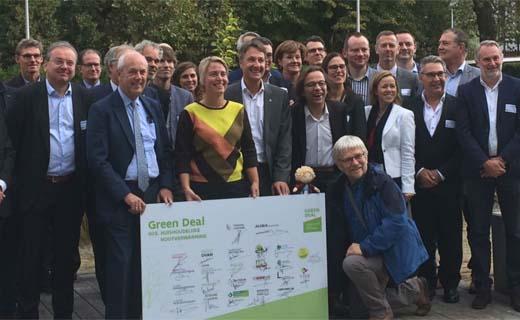 Green Deal voor Huishoudelijke Houtverwarming getekend