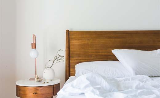 Houten Muurdecoratie Slaapkamer : Traditionele bed verdwijnt uit de nederlandse slaapkamer