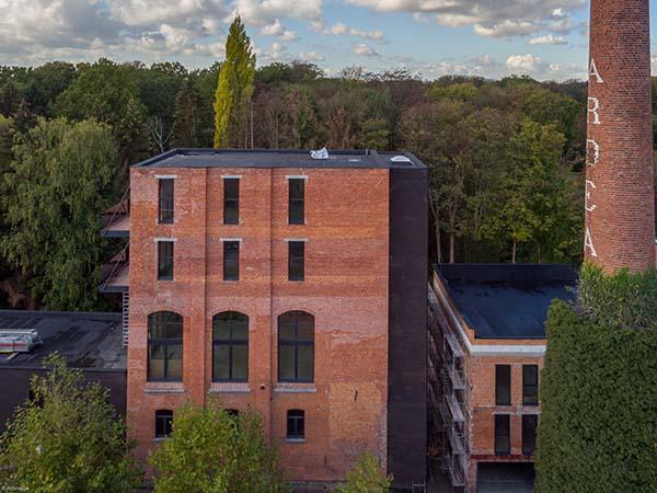Realisatie woonproject Ardea-Lofts in voormalige brouwerij zo goed als afgerond