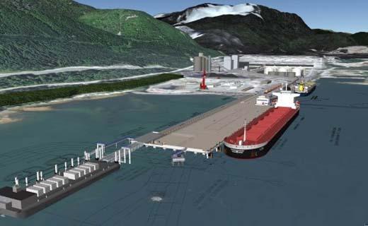 BAM start bouw haventerminal in Kitimat, British Columbia, Canada