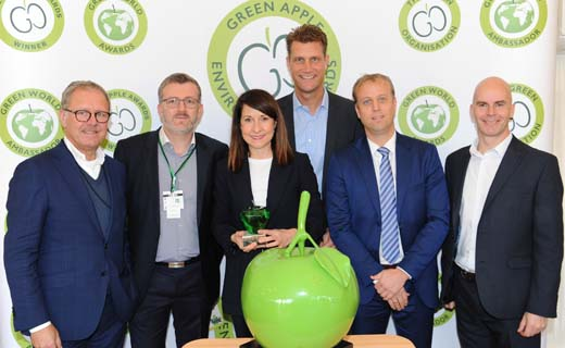 Energieopslagsysteem Johan Cruijff ArenA wint Green Apple Award