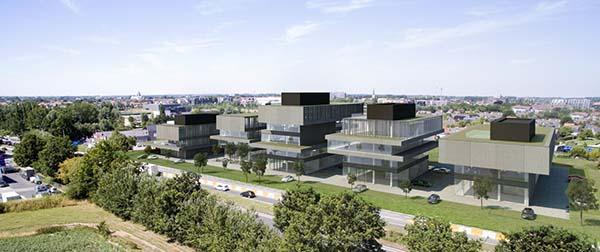 Eerste CO2-neutraal gebouwde bedrijfssite van België