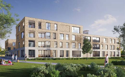 Bouw van duurzame woonwijk in Gentbrugge officieel gestart