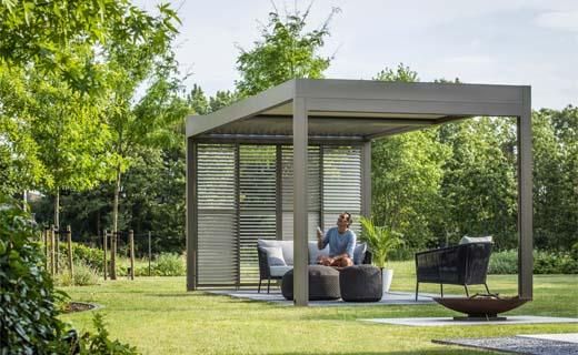 Renson Algarve: van terrasoverkapping tot carport in één en dezelfde stijl