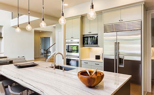 Stoere Keukens Keukenlamp : Keukens koolschijn delft