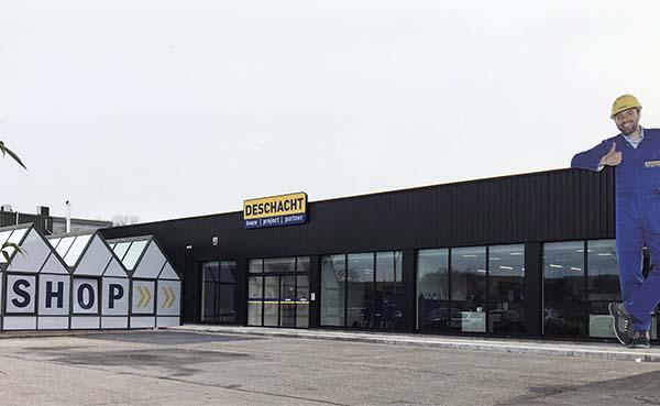 Bouwshop Deschacht breidt uit naar Hasselt