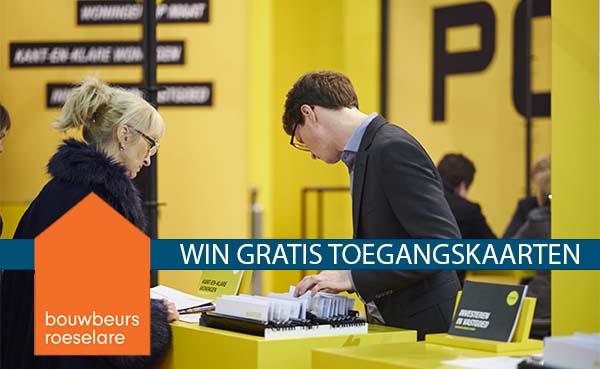 Win gratis kaarten voor bouwbeurs Roeselare 2019