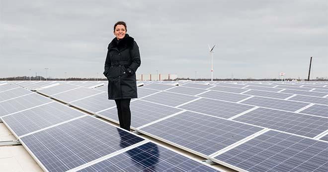 Lydia Peeters, Vlaams Minister van Energie