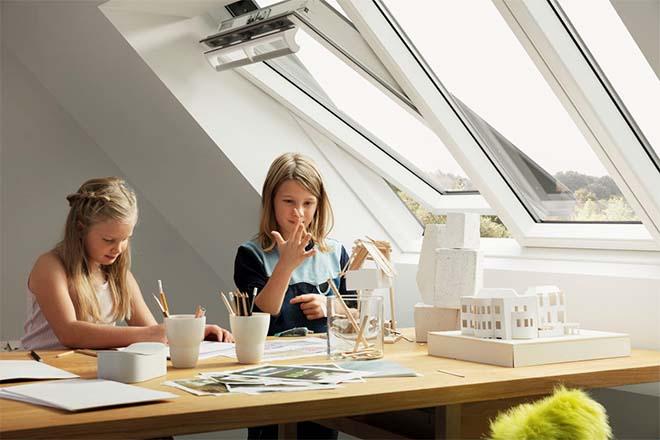 Het nieuwe STUDIO-dakvenster van Velux