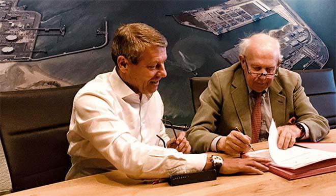 Ondertekening PPS-overeenkomst Maes en Boereboomplein, Knokke-Heist