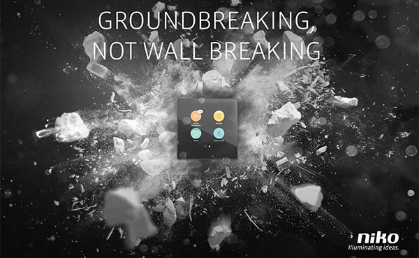 Niko op Batibouw: Groundbreaking, not wall breaking