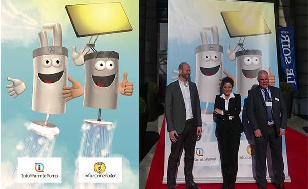 Vlaams minister Lydia Peeters is de nieuwe meter van WarmtepompboilerBoy