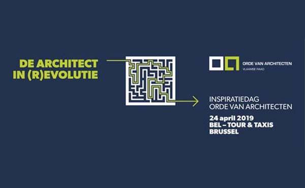 Orde van Architecten nodigt architecten uit op Inspiratiedag 'De architect in (r)evolutie'