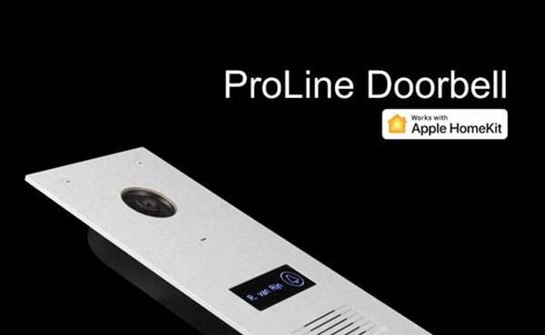 ProLine deurbel heeft primeur met Apple HomeKit ondersteuning