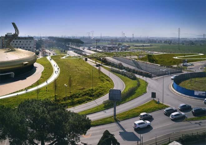 Architect Maurice Nio bouwt unieke brug in Italië