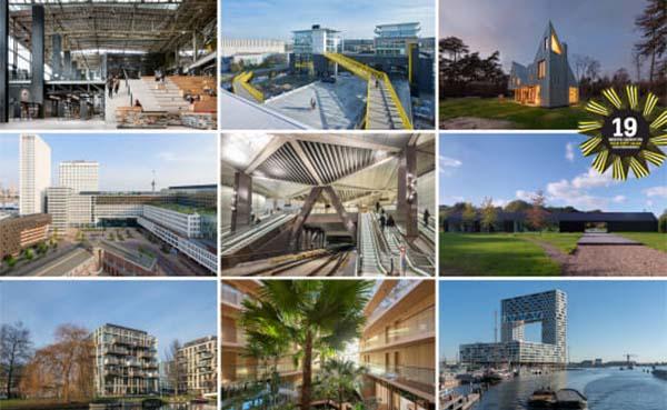 9 gebouwen in de race voor BNA Beste Gebouw 2019